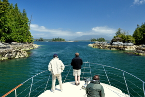 Private boat charters Vancouver Island