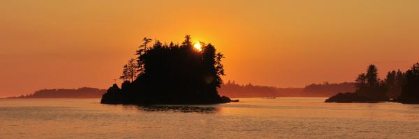 sunset tour Vancouver Island